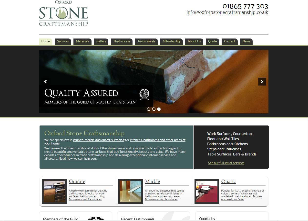 Oxford Stone Craftsmanship